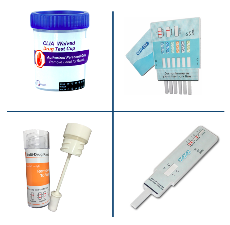 Drug Testing Devices - Cup, Dip Card, Oral Drug Screen